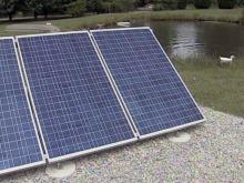 Solar panels in Cumberland County