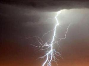This lightning bolt was photographed by a WRAL viewer last year in Fayetteville.