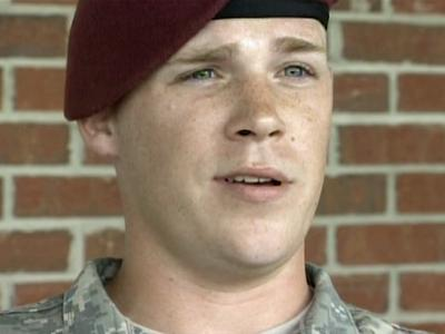 Fort Bragg Spc. James Van Dorn is with the  3rd Battalion, 319th Airborne Field Artillery Regiment.