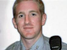 Cumberland County Deputy Christopher Brian Matthews died Sept. 30, 2005, when his cruiser overturned as he was responding to a 911 call.