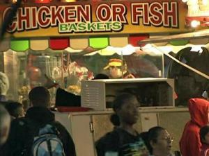 People are urged to wash their hands before and after they eat and see the animals at the N.C. State Fair.