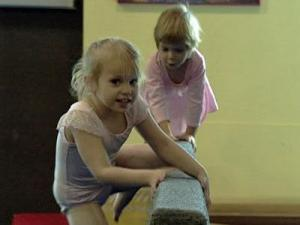 Young's Gymnastics and Cheerleading in Wake Forest offers open-gym sessions.