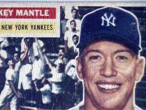 A stolen baseball card collection included cards for baseball legends like Mickey Mantle, Babe Ruth, Ty Cobb and Nolan Ryan.