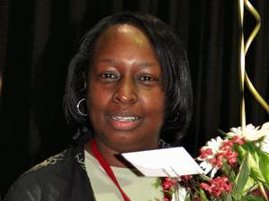 Amy Marshall-Brown was selected the 2010 Wachovia Principal of the Year for Edgecombe County Public Schools.