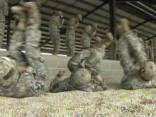 Soldiers train at Fort Bragg