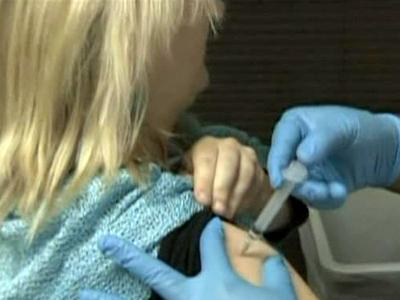 The Durham County Public Health Department held a vaccination clinic on Nov. 4, 2009 for children to get protection from the H1N1 flu.
