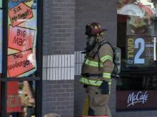 McDonald's haz-mat incident hospitalizes six