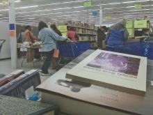 It looked like Black Friday at the Wake County Libraries' Annual Booksale in a former Winn-Dixie Supermarket in the South Station Shopping Center, 1514 Garner Station Blvd. in Raleigh, on Saturday, Nov. 14, 2009.