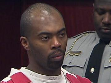 Samuel James Cooper appears in a Wake County Superior Courtroom Monday, Nov. 16, 2009. Cooper is charged in a series of homicides spanning more than a year.