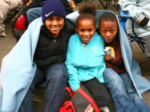 Approximately 60,000 people lined Fayetteville Street for the 2009 WRAL-TV Raleigh Christmas Parade on Nov. 21.