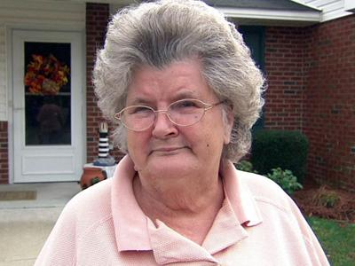Lois Brown said her Rocky Mount apartment complex has banned them from putting up outdoor holiday lights.