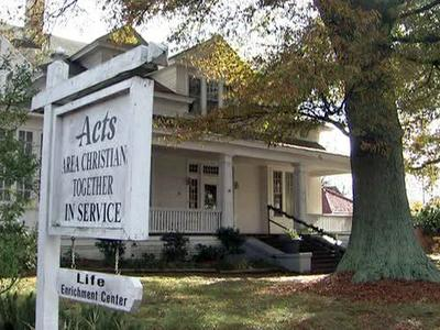 Area Christians Together in Service (ACTS), at 305 S. Chestnut St. in Henderson