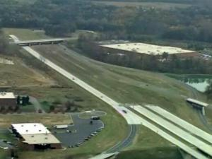 Gov. Beverly Perdue announces a plan on Monday, Nov. 9, 2009, to fund remaining construction on Charlotte's Interstate 485 outer loop with a private-public partnership.