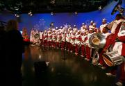 IMAGES: NCCU band performs at WRAL tower lighting