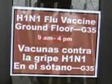 Traffic steady for H1N1 vaccine in Wake County