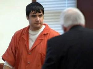 Cesar Laurean attends a Dec. 8, 2009, court hearing in his murder case. He is charged with killing a pregnant Marine while both were stationed at Camp Lejeune.