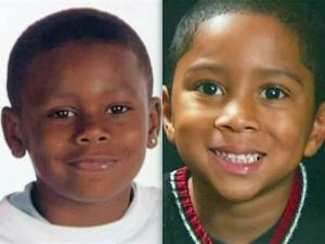 Brothers Calvin Brandon, 9, and Hassan Bingham, 6, were killed on Dec. 9, 2009, when an Amtrak train hit their mother's SUV at a rail crossing in Durham.
