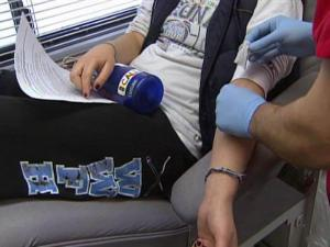 UNC students donated dozens of units of blood on Dec. 15, 2009, in honor of a freshman who friends say is critically ill because of complications of the H1N1 virus.
