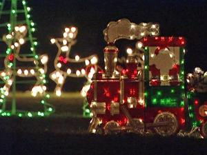 Jake Phillips, 68, has been putting up a huge holiday lights display in his front yard, at 148 N.C. Highway 98 East in Bunn, for about 30 years.