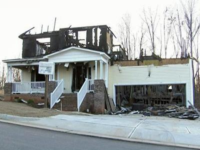 This unoccupied home at 12 Cameo Court in Clayton was intentionally set on fire on Dec. 15, 2009. This was the second time it was set on fire this year.