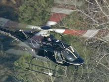 Sky 5 hovers over Wake County chase