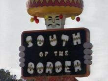 Alan Schafer opened South of the Border in 1949.