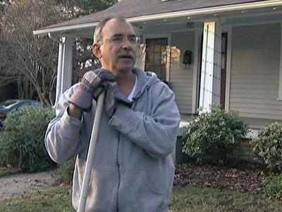 Dan Dunbar spent Jan. 1, 2010 preparing his Raleigh home for the cold weather expected in the coming week.