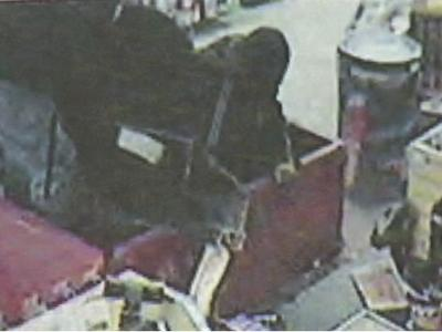 Surveillance video from the Circle K at 11700 New Leesville Blvd. shows two people stealing cigarettes in the early hours of Dec. 30, 2009.