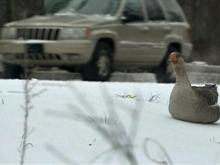 Snow keeping road crews busy in Raleigh