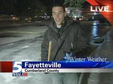 WRAL reporter's encounter with faulty ice scraper