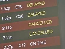 RDU passengers stranded after winter storm cancels, delays flights