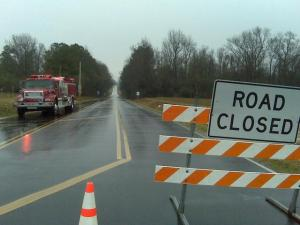 Hazardous materials crews have been called out after a tractor-trailer overturned, spilling chemicals on N.C. Highway 403 in Duplin County Friday morning, according to the state Highway Patrol.
