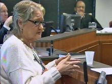 Rose Hitch, witness in Gregory Taylor Innocence Commission hearing
