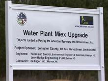 Johnston County water treatment plant expansion