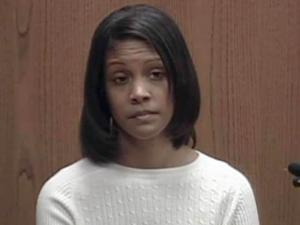 Shannon Elizabeth Crawley testifies in her defense on Feb. 18, 2010. She is charged with the January 2007 shooting death of Denita Smith, a graduate student at N.C. Central.