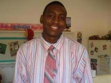 Vance-Granville Community College sophomore Raymond Dunn died after collapsing during a basketball game Saturday, Feb. 20, 2010, according to college President Randy Parker. (Photo courtesy of Lamesha Harrington)