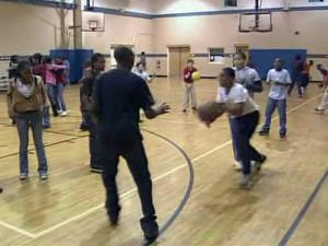 Youths gather at the Boys & Girls Club of Sanford/Lee County on Feb. 23, 2010, for after-school activities.