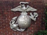 Marine Corps symbol at Camp Lejeune