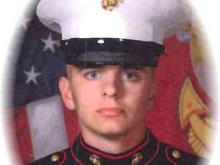 Marine Pfc. Eric Currier
