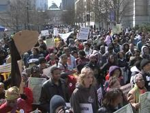 Jobs, education focus of annual civil rights march