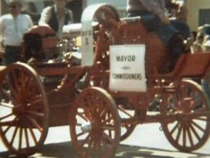 Benson's first fire engine dates back to 1907.