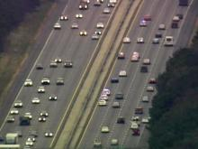 Raw: High-speed chase on Interstate 40