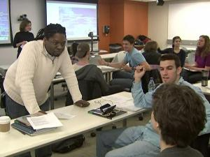 Students learn to speak Creole at Duke University.