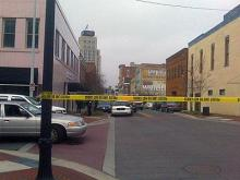 Shooting near Durham courthouse