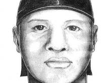 Sketch of Fayetteville rapes suspect