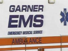 Garner EMS ambulance