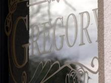 Gregory's Restaurant sign