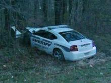 Chatham deputy crashes patrol car