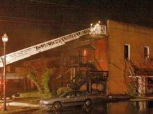 Fire damages Angier apartment building