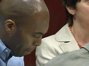 Samuel James Cooper listens to testimony in his murder trial on March 31, 2010. Cooper is on trial for five counts of first-degree murder in a string of shooting deaths in Raleigh that span more than a year.